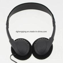 El uso perfecto del auricular barato para la clase económica de la aviación
