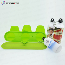 SUNMETA Sublimation 3D Vacuum Press Clamp de bouteille de sport