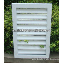 pvc louver windows/foshan wanjia brand