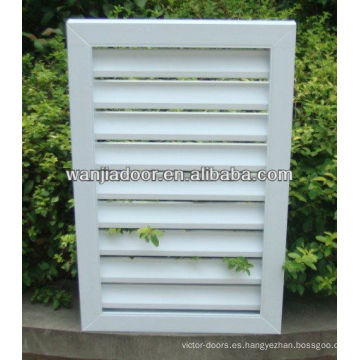 persianas de pvc windows / foshan wanjia marca