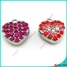 Pingente de cristal de coração cheio para decoração de moda (MPE)