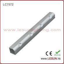 Ángulo de haz ajustable CREE LED 4 * 1W DC24V LED Iluminación lineal en joyería Showcase (LC7572)