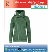 High Neck custom made hoodie for men and women smart fit