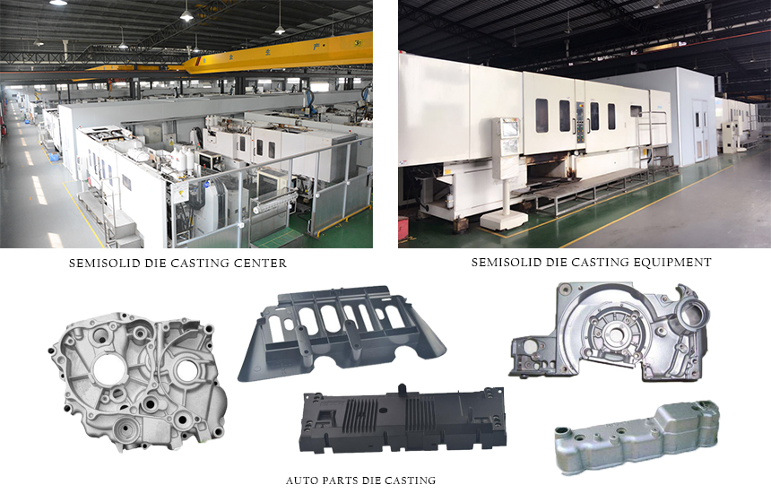Mg Alloy Auto Parts Die Casting