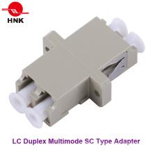 Adaptador de fibra óptica multimodal LC tipo Sc SC
