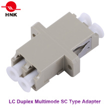 LC Duplex Multimode Sc Type Fiber Optic Adapter
