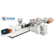 PVC-Coextrusionsschaumplatten-Extrusionslinie