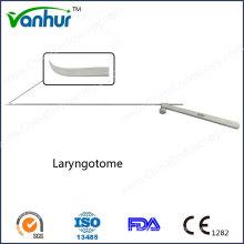 E. N. T Surgical Instruments Laparoscopic Laryngotome