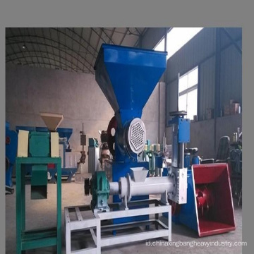 PP PE film dan mesin pelletizing busa