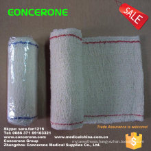 Crepe Elastic Bandage with Red Line or Blue Line