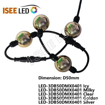 DMX LED 50MM Küreler Sihirli Top Işık