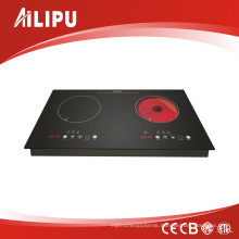 2 Burners Built in Induction and Hi-Light Hob (Model SM-DIC09A-1)