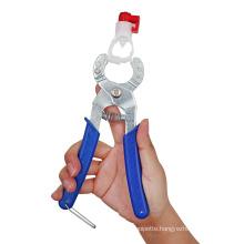 Poultry Nipple Drinker Clamp Chicken Duck Goose Crimping Assemble Plier Fountain Installation Water Pipe Nipple Drinker Pliers