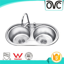 Конкурентоспособная цена двойной чаша легко чистить раковину конкурентоспособная цена двойной чаша легко чистить кухонную раковину