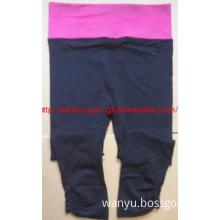 seamless sport high waist trousers