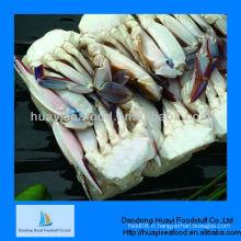 Fruits de mer de crabe coupés surgelés