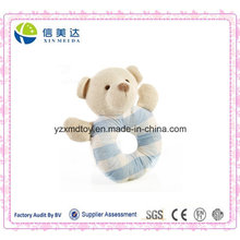 Bescheinigung genehmigte nettes Plüsch-Babyhandbell-Bärn-Spielzeug