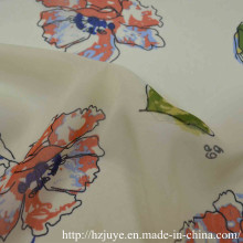 Polyester Printed Chiffon with Spandex