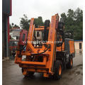 Vibrate Machine for Guardrail Installation