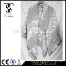 alibaba hot sale light color series bulk wholesale scarves herringbone twill poncho