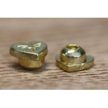 Botón de encargo del metal del diseño único para Jean