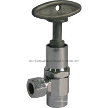 Angle Valve Sweat Inlet with Loose Key (J03K)
