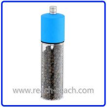 Sel en plastique manuel de cuisine et de moulin à poivre (R-6012)