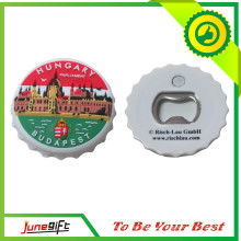 Round Shape Beer Bottle Opener PVC