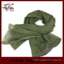 Многофункциональный тактические шарф маскировочная сетка шарф Airsoft шарф