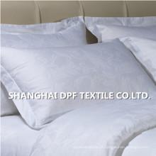 Fronha 100% algodão branco Jacquard (DPH7744)