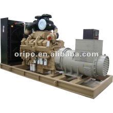 Groupe électrogène diesel Cummins 800kw de 3 phases 220V largement utilisé avec tête de générateur sans balai