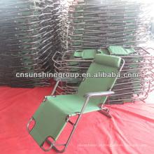 Ao ar livre portátil dobrável cadeira de reclinação de cadeira de praia
