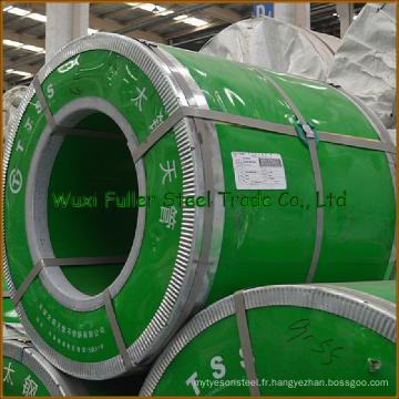 Feuille d'acier inoxydable 304 utilisée pour faire le réservoir