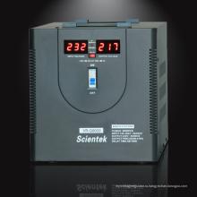 Стабилизатор стабилизатора AVR 8000VA 4800W со светодиодной подсветкой