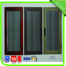 Aluminum Window with Security Mesh