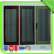 Aluminum Door with Stainless Steel Mesh