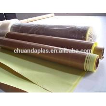 China Factory Wholesale Tissu en tissu traité en PTFE Tissu en tissu Tirage de qualité