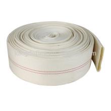 Polyester-Heftklammern der hohen Hartnäckigkeit, flachgelegter Feuerlöschschlauch der Polyester-Filamen-Jacke