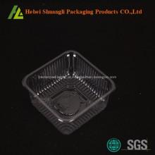 Caixas de bolo de lua de plástico transparente atacado