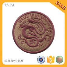 EP-05 China Lieferant Großhandel Stickerei Patch, 3D Kleidungsstück gestickten Patch