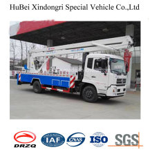 16-18m Dongfeng High Working Truck Cummins Engine