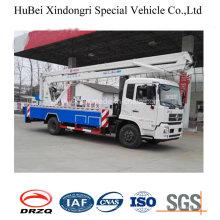 16-18m Dongfeng High Working Truck Cummins Engine