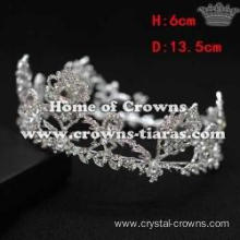 Wholesale Full Round Bridal Queen Crowns