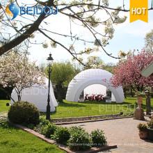 Надувные шатры купола события Свадебный кемпинг прицепа Сторона Охота палатки