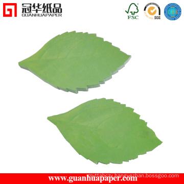 3X3 Leaf Shaped Sticky Notes Good Quality Sticky Notes