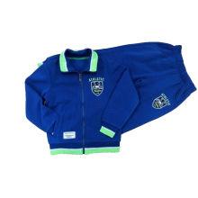 Vêtements de sport scolaire pour les vêtements de garçon d'école primaire