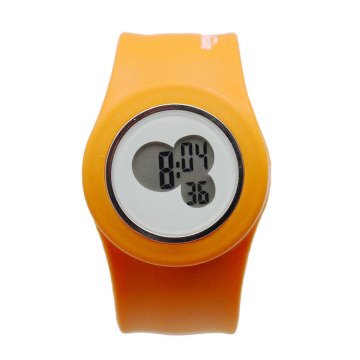 wholesale custom kid silicone slap watch