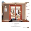 Design Soundproof Insulated Glass House Beautiful Appearance Sliding Door Cheap Price