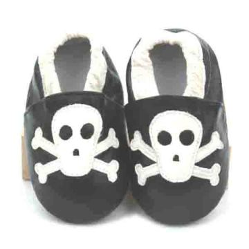 2016 Halloween Genuine Leather Soft Infant Shoes Baby