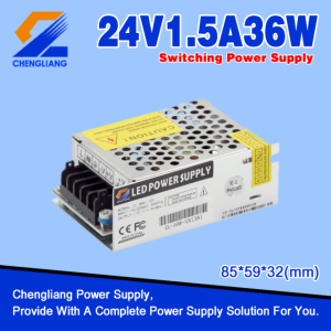 AC DC 24V 36W Switching Power Supply